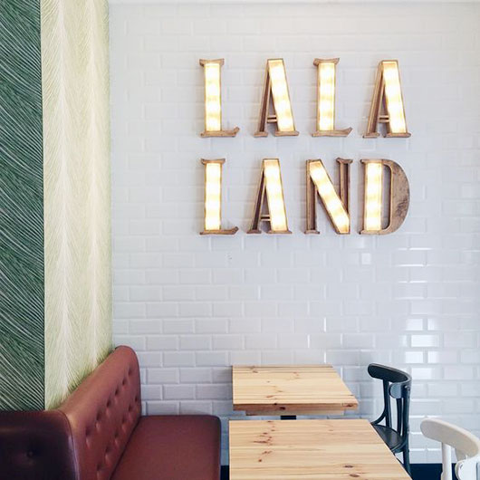la la land light fixture / sfgirlbybay