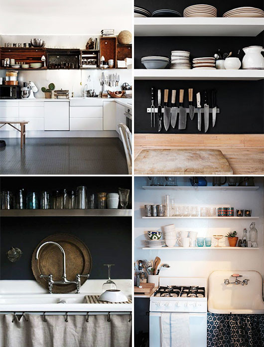 small kitchen decor inspiration. / sfgirlbybay