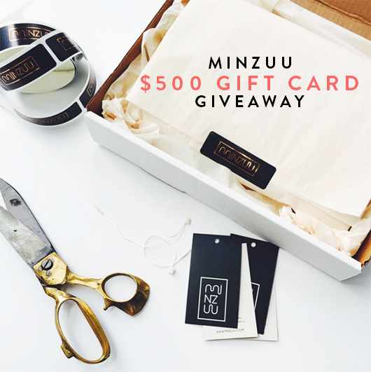 win $500 to spend on Minzuu home goods / sfgirlbybay