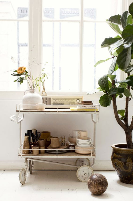 neutral accessories and homewares styled via femke pastijn. / sfgirlbybay
