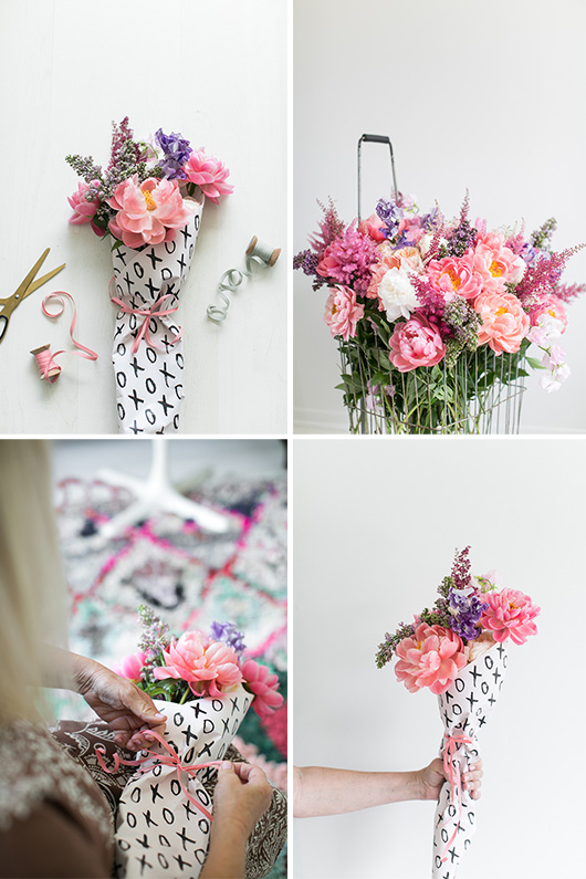 DIY mother's day bouquets / sfgirlbybay