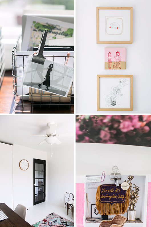 victoria smith's home office decor details / sfgirlbybay