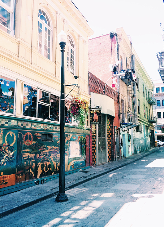 photography of colorful exteriors from the pages of See San Francisco. / sfgirlbybay
