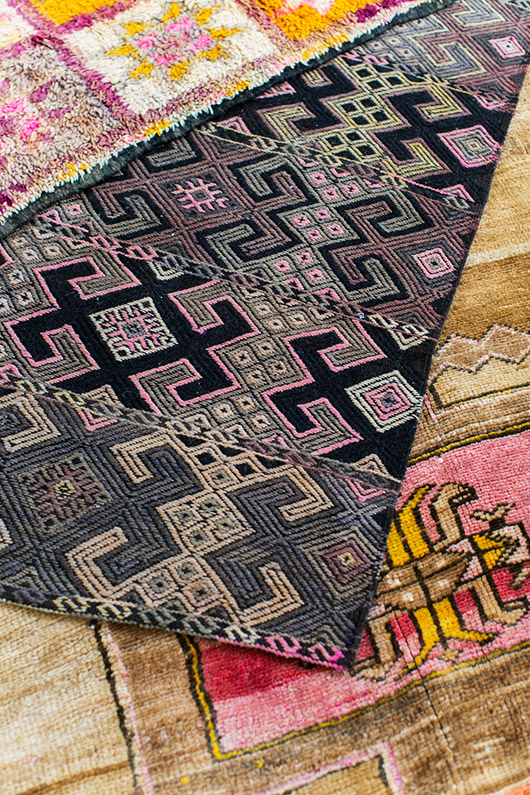 colorful moroccan style rugs from abc carpet and home / sfgirlbybay