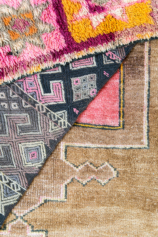 colorful moroccan style area rugs from abc carpet and home / sfgirlbybay