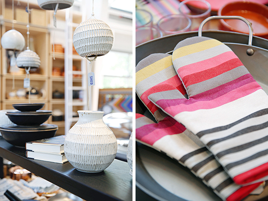 healdsburg shed home decor and kitchen accessories on display / sfgirlbybay