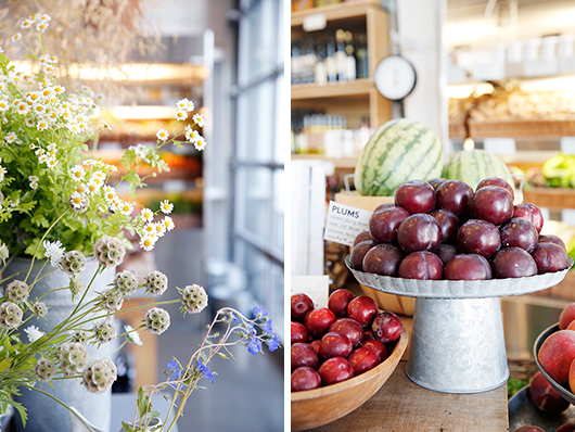 healdsburg shed marketplace for flowers and fruit / sfgirlbybay
