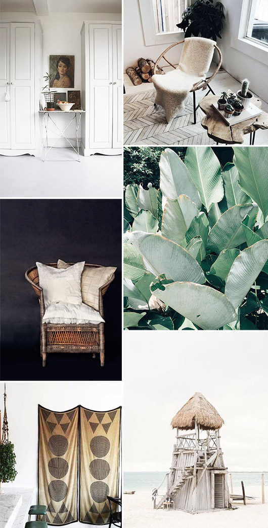 various home decor for hot weather climates / sfgirlbybay