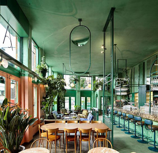 wear this there: le bar botanique in amsterdam. / sfgirlbybay