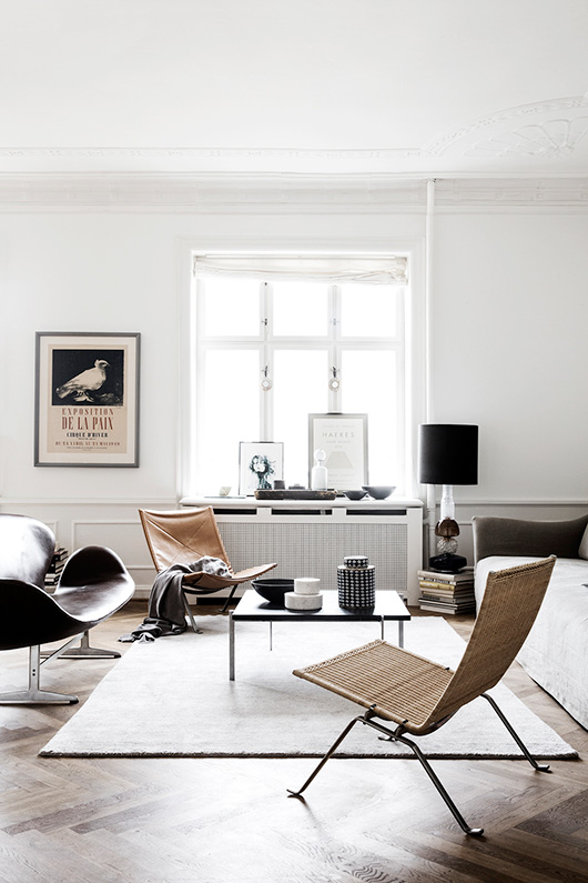 modern living room decor photographed by line klein / sfgirlbybay