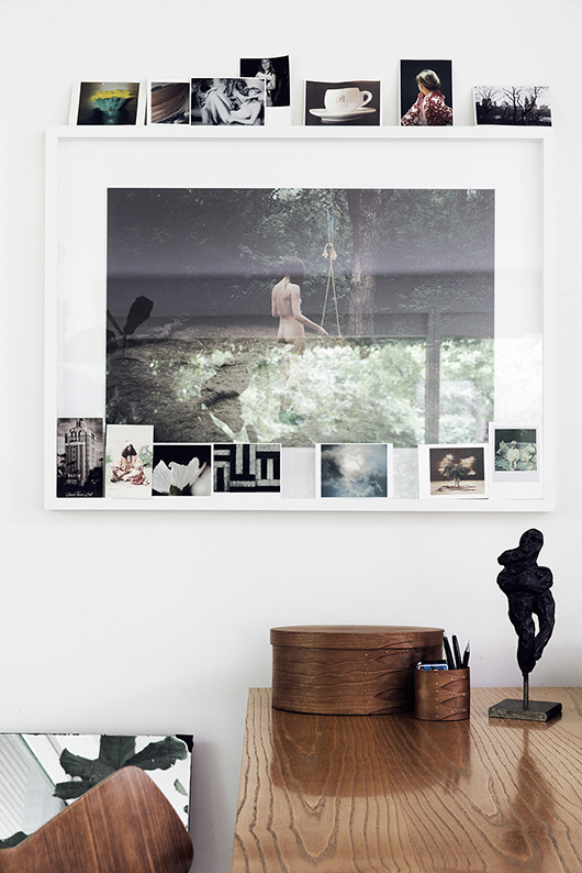 framed photograph and small prints photographed by line klein / sfgirlbybay