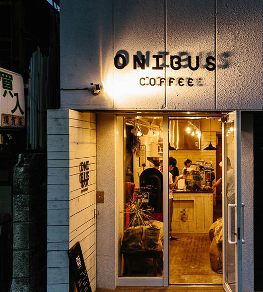 onibus coffee in tokyo at night / sfgirlbybay