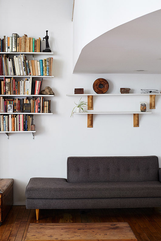 sight unseen feature of designer daniela jacobs' tribeca loft. / sfgirlbybay