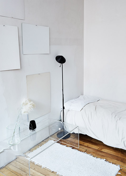 minimalist bedroom decor featured by sight unseen. / sfgirlbybay