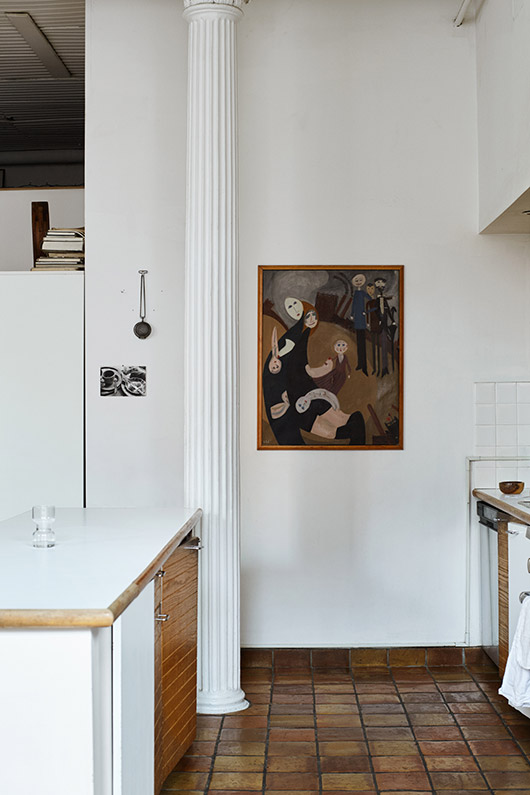 designer daniela jacobs' home in tribeca featured by sight unseen. / sfgirlbybay