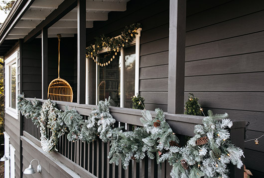 the martha stewart holiday collection of outdoor decor at home depot. / sfgirlbybay