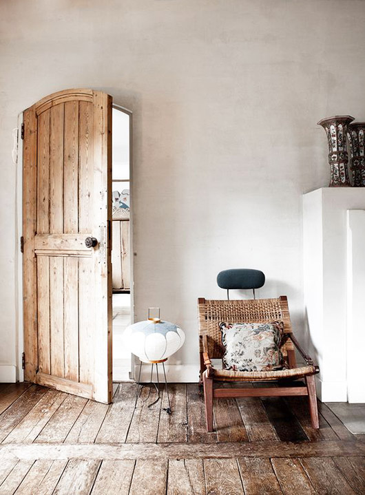 arched front door. / sfgirlbybay