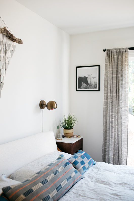 bohemian modern bedroom at home with: sophie carpenter. / sfgirlbybay
