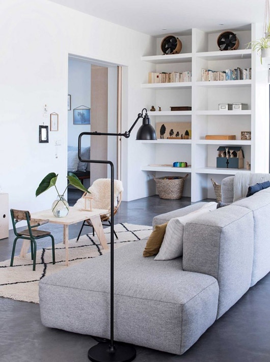 scandinavian inspired living room decor via gravity home. / sfgirlbybay