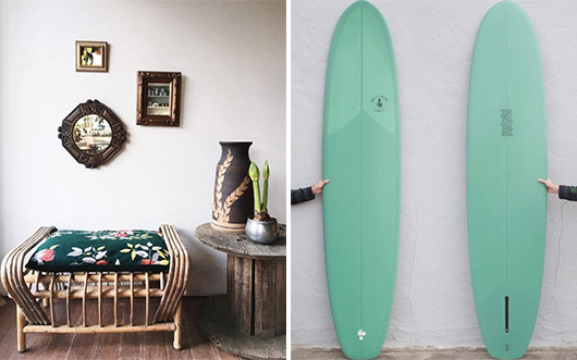 instagram pairing featuring images by @mavencollectpdx and @mollusksurfshop. / sfgirlbybay
