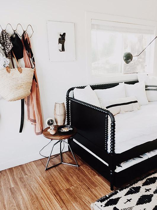 daybed in my studio. / sfgirlbybay