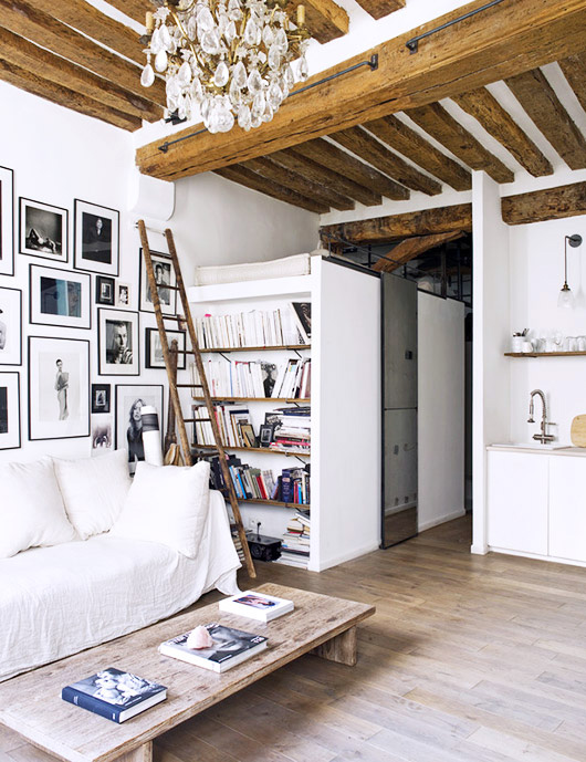 tres chic home to Photographer Matthew Brookes. / sfgirlbybay
