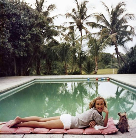 slim aarons print entitled Having A Topping Time. / sfgirlbybay