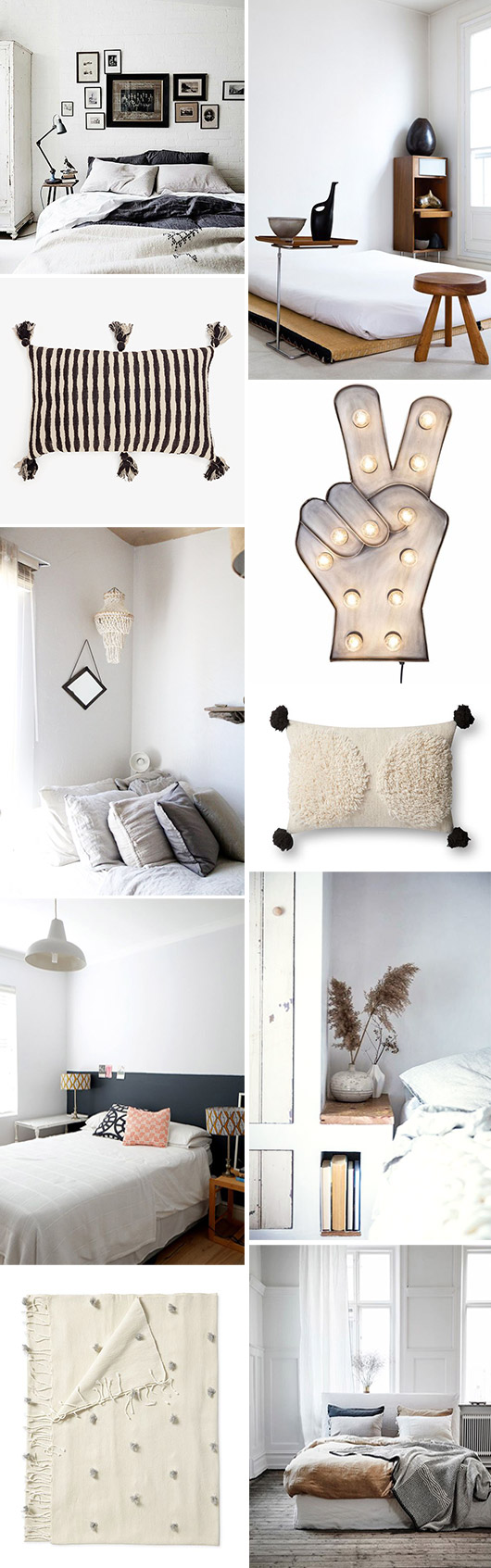 bedroom decor and design inspiration. / sfgirlbybay