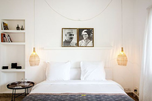 minimalist eclectic bedroom decor. / sfgirlbybay