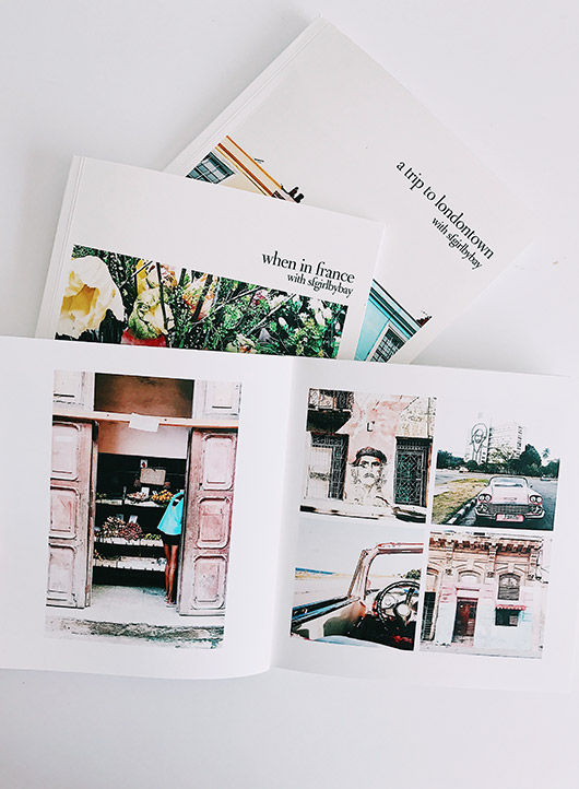 introducing the instagram friendly books from artifact uprising. / sfgirlbybay
