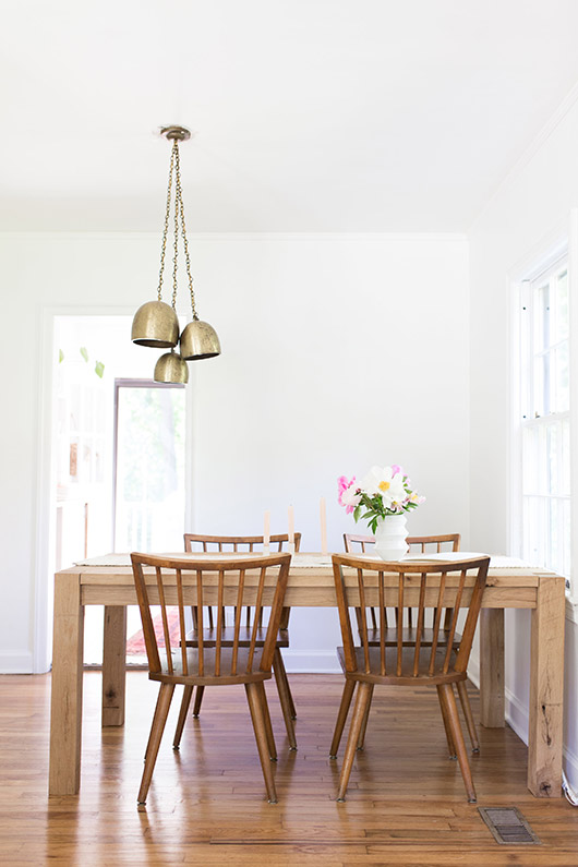 minimalist dining area at home with: ayla gurganus. / sfgirlbybay