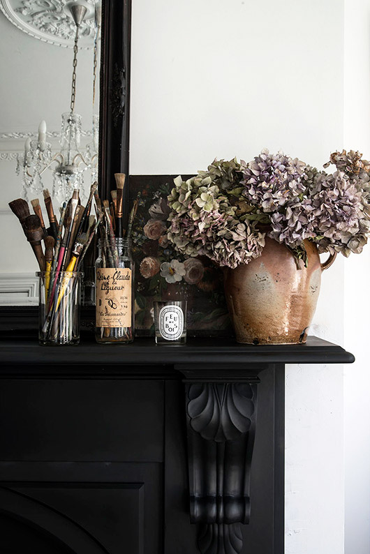 mantle styling and photography via mademoiselle poirot. / sfgirlbybay