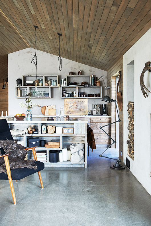inspiring interior via the scandinavian home by niki brantmark / sfgirlbybay