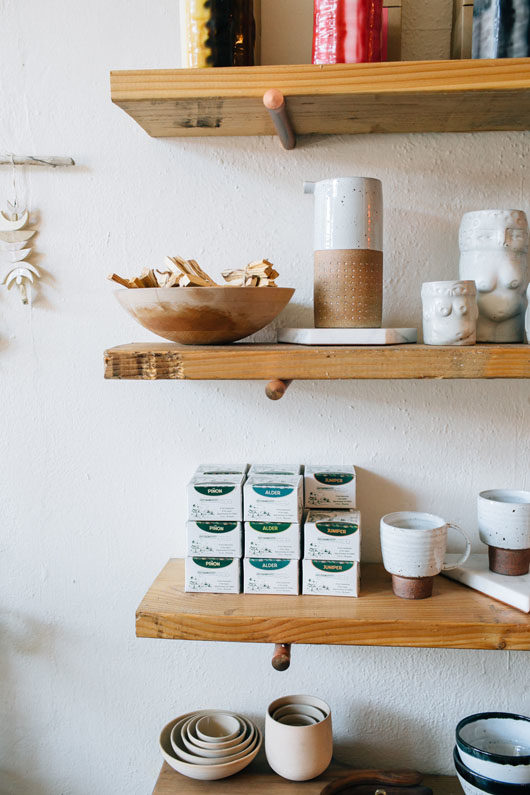 curated decor collection at belljar in los feliz. / sfgirlbybay