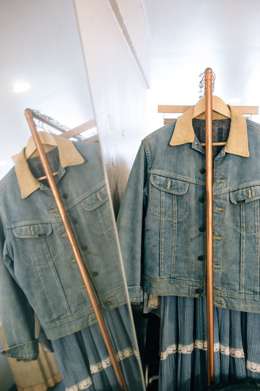 vintage clothing at belljar in loz feliz. / sfgirlbybay