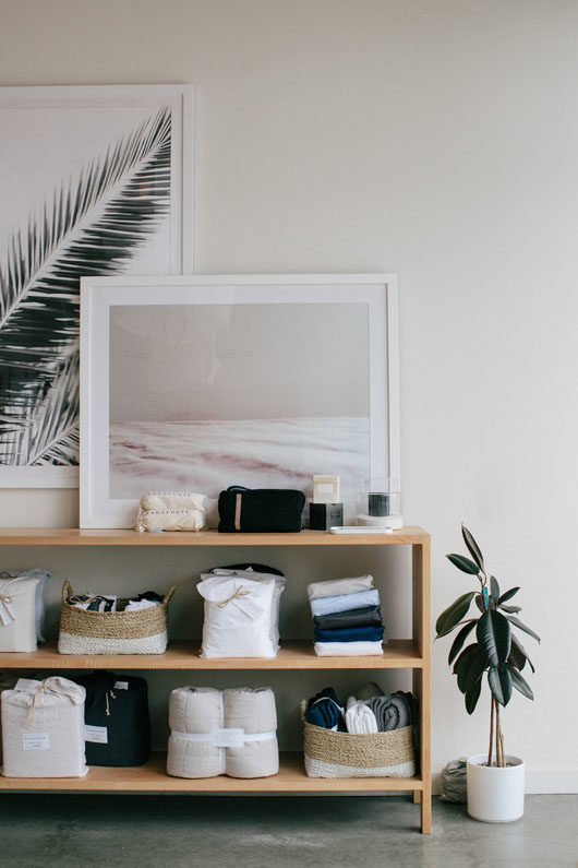 parachute home showroom. / sfgirlbybay