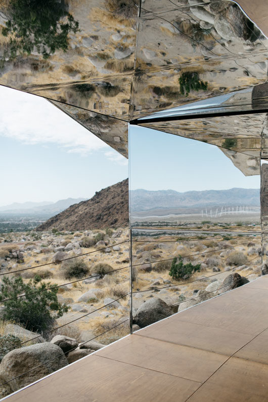 view from doug aitken mirage house in palm springs. / sfgirlbybay