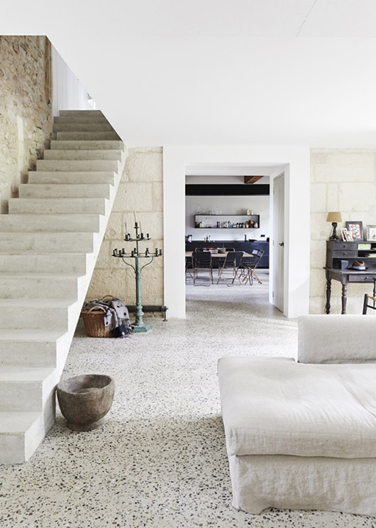 rustic and hip summer home in france. / sfgirlbybay