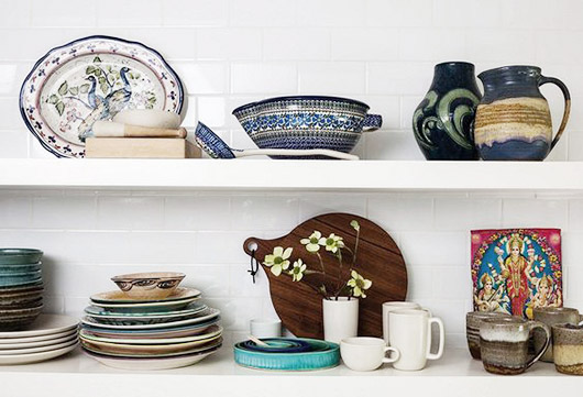curated collection of eclectic dishes and kitchen accessories. / sfgirlbybay