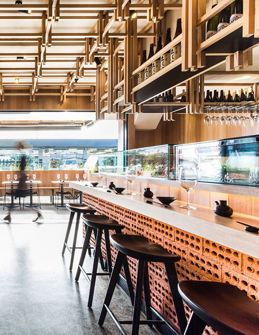the bar at melbourne's y14. / sfgirlbybay