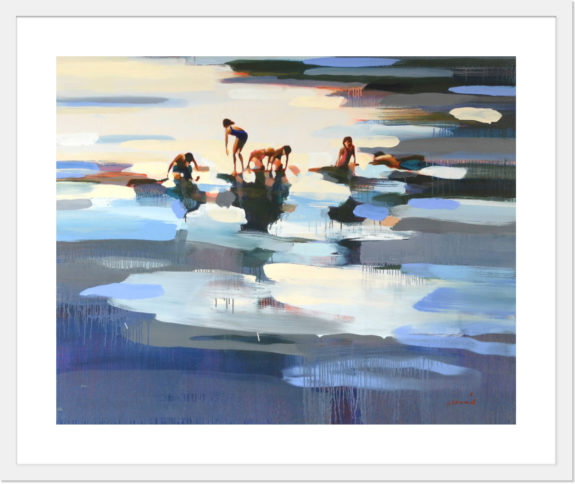 art print via my 10 x 10 collection for limited by Saatchi Art. / sfgirlbybay