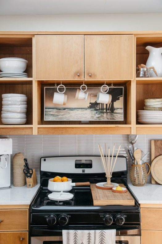 inspiring kitchen decor in tiny home in venice canals. / sfgirlbybay