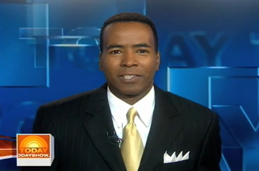Kevin Corke anchoring Today Show on NBC