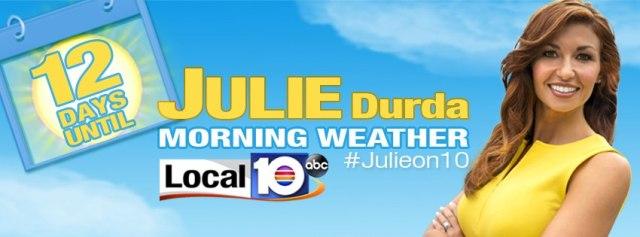Julie Durda WPLG Meteorologist