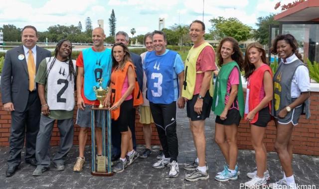 2013 Calder Media Foot Race with Diana Diaz, Julie Durda, Trina Robinson