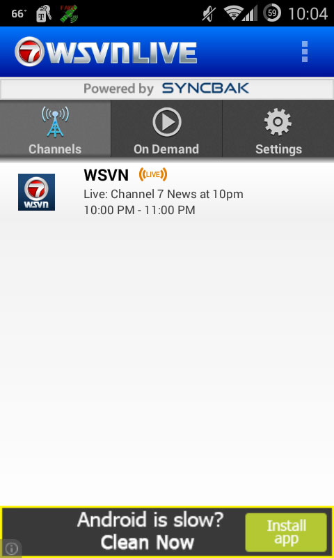 WSVN Live, The Live Streaming App With a Caveat - SFLTV