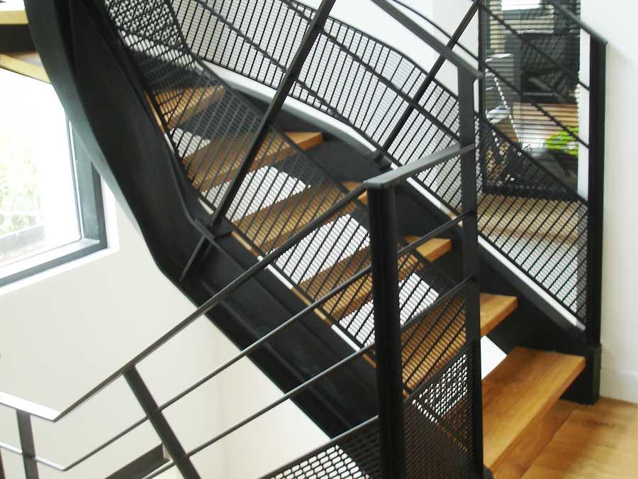 entreprise escaliers bois et metal sur mesure SFMP 78