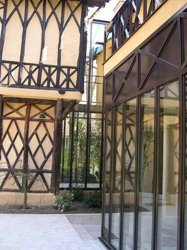 Fabrication et pose de fenêtres en acier entreprise sfmp 78