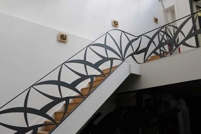 garde-corps métallique design Rémy Garnier paris