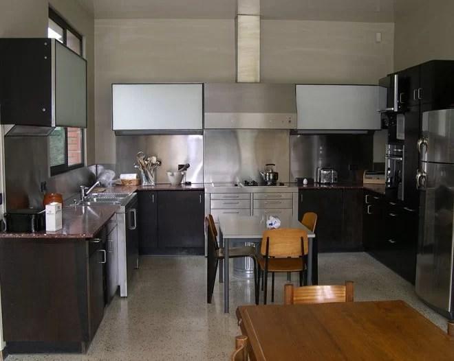 Habillage inox et aménagement cuisine Yvelines 78